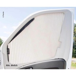 REMIfront-Rollo IV side window right Ducato from 2007 grey