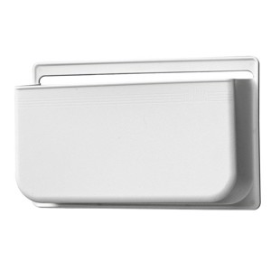 Dust container L white