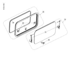 Replacement pane S7Z window