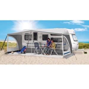 Caravan sunroof Bermuda G8 without frame in blue