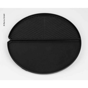 Grill plate smooth f.2Cook