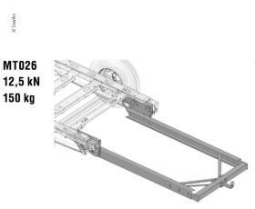 Trailer hitch MT026