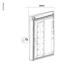 Complete door for RMH7390L
