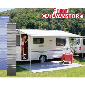 Fiamma awning Caravan Store - light awning for the piping rail